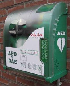 AED met behuizing